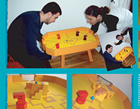 """""""magneflick"""" table game with magnets"""