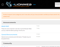 eLIONWEB Support