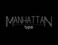 Manhattan Typeface