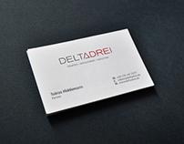 DELTADREI - Visual Identity