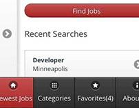 Kavaliro IOS Job Board App and Responsive Web App