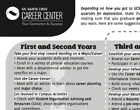 Handouts for the UC Santa Cruz Career Center