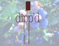 Dipp'd: Hand-Dipped Frozen Fruit Bars | ID + UI Brand