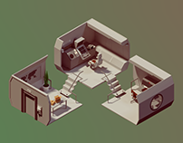 Animated Isometric Environment