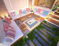 Outdoor Modern Arabian Garden