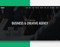 Vinno - Business & Creative Agency Website