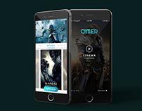 Cimer Mobile Cinema App