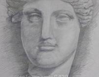 Clay Head -pencil-