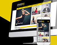 STYLEDMAG Wordpress Theme design