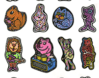 Stickers Funny Animals