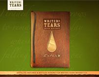 Writers Tears Whiskey Website Design and Devleopment