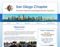 San Diego HFES Website