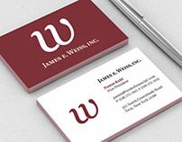 James E. Weiss, Inc. Identity Design