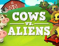 Cows Vs Aliens UI/UX