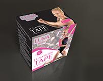 LUNA BODY TAPE Box Design