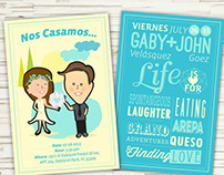 Gaby + John Wedding