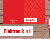 Elektronik.co.id Stationary and Logo