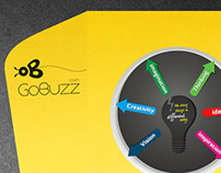 Gobuzz company folder&contract paper Design