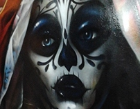 Los Muertos graffiti