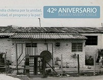 Aniversario barrio Nuevo Chile