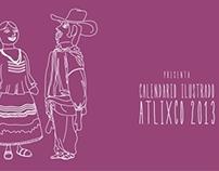 CALENDARIO ILUSTRADO ATLIXCO 2013