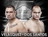 Poster UFC 166 Velasquez vs Dos Santos III.
