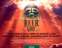 Kingfisher Beer God