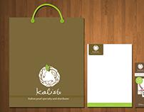 Kaliste Logo and Stationary
