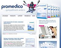 Promedico - Mockups