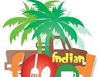 Indian Food Safari Logo