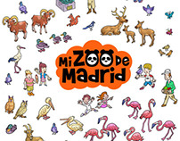 MADRID ZOO, books and educative products