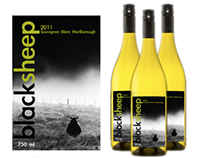 "Wine Labels, ""Back Sheep"""