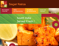 Sagar Ratna Website
