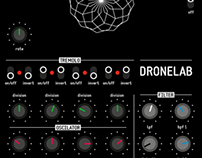 DroneLab user interface