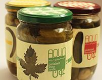 aoun pickles packaging