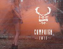 Backstage LAN' F/W 2013 campaign