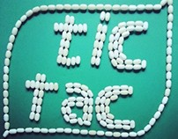 Tic Tac Art - using tic tac in various artistic ways
