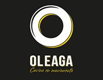 Oleaga - Cocina en Movimiento | Brand Identity