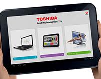 Toshiba B2B App
