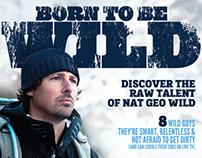BORN TO BE WILD-The Men of Nat Geo WILD