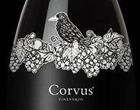 CORVUS / Etiket tasarımı