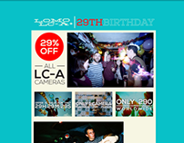 Lomo LC-A+'s 29 Birthday