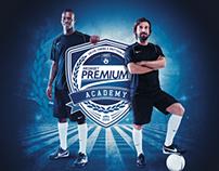 Mediaset Premium Academy (Logo & Campaign visual)