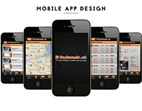 Mobile App Design Comparateur