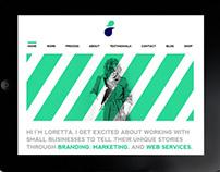 Loretta May Design Re-brand