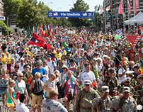 The Walk of The World Nijmegen Netherlands