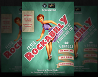 Rockabilly Party flyer