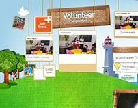 Volunteer Team Digital Corkboard