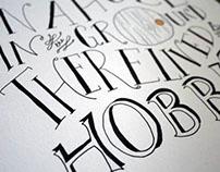 The Hobbit Illustration/Letting for jordandene