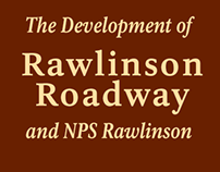 Rawlinson® Roadway and the development of NPS Rawlinson
